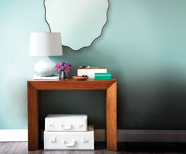 hallway-wood-table-console-home-organizing