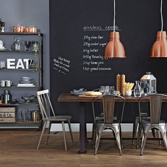 Blackboard-Wall-Dining-Room-Ideal-Home-Housetohome