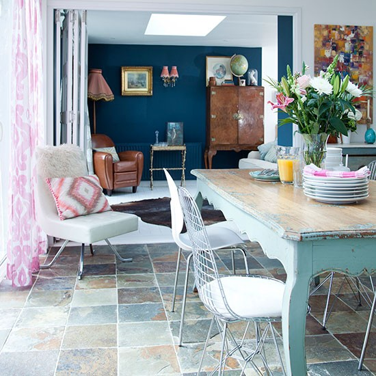 Eclectic-Dining-Living-Room-Style-At-Home-Housetohome