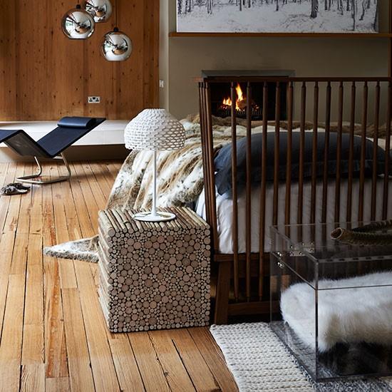 Oak-Floor-and-Faux-Fur-Bedroom-Livingetc-Housetohome