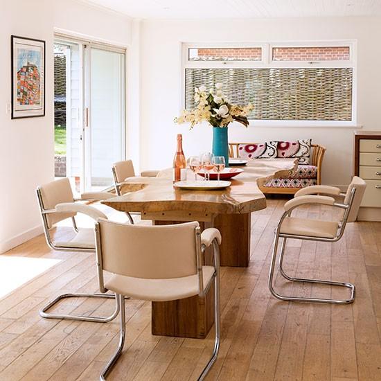 Oak-Floor-and-White-Dining-Room-25-Beautiful-Homes-Housetohome