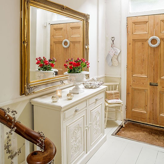 Cream-and-Oak-Door-Hallway-Style-At-Home-Housetohome