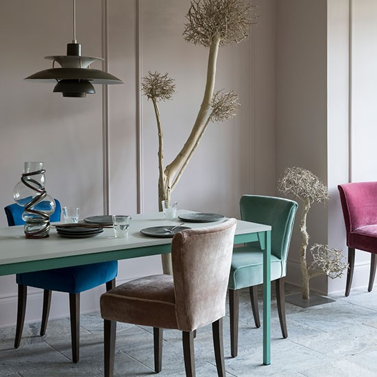 Assorted-Velvet-Chair-Dining-Room-Homes-and-Gardens-Housetohome