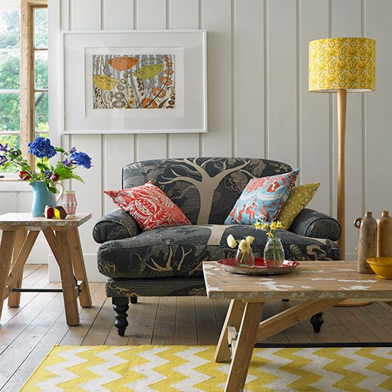 Yellow-and-Oak-Wood-Living-Room-Country-Homes-and-Interiors-Housetohome